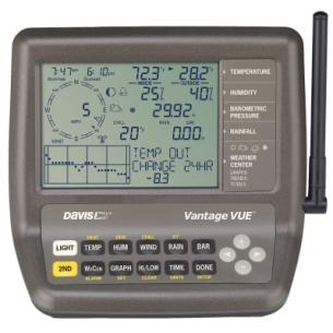 Метеостанция профессиональная Davis Vantage Vue 6250