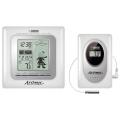Метеостанция цифровая Atomic W839009 white