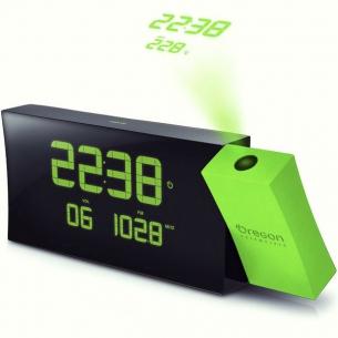 Проекционные часы с термометром и FM-радио Oregon RRM222P