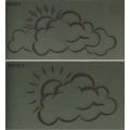 Анимированные обозначения прогноза погоды